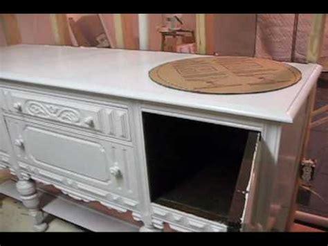 Antique Furniture Turned Into Bathroom Vanity Antique Sideboard Turned Into Bathroom Vanity 1st Vid Wmv