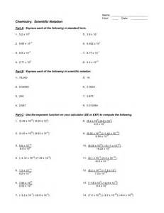 10 best images of scientific notation worksheet 6th