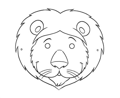 free printable animal masks templates animal mask template animal templates free premium