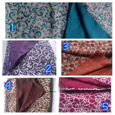 Jilbab Segi Empat Bolak Balik kmimar motif bolak balik jilbab bolbal motif toko emyra bedding dan gorden