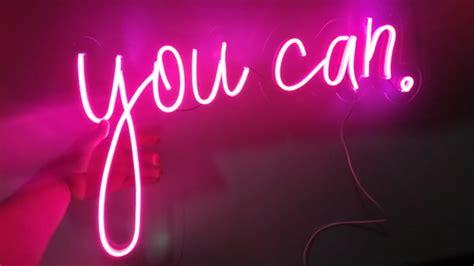painel letreiro luminoso em neon led personalizado cm