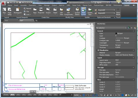 autocad tutorial working with layouts working with autocad layouts fme knowledge center