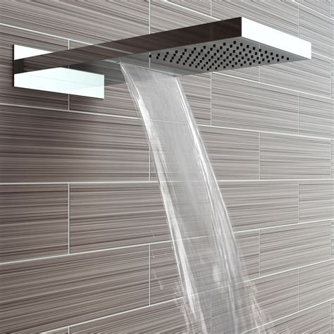 Electric Waterfall Shower 25 Best Ideas About Shower Heads On Bathroom