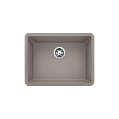 blanco undermount kitchen sink single bowl blanco precis undermount granite composite 24 in single