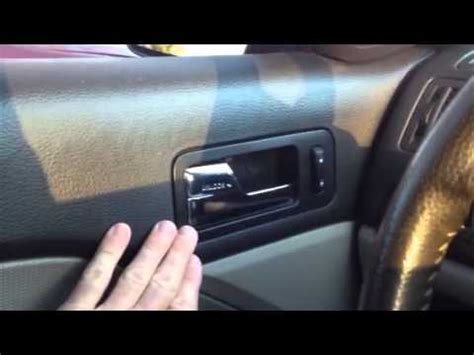 2009 mercury milan interior door handle ford fusion mercury milan and lincoln mkz broken door