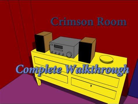 Crimson Room Walkthrough by Escape The Crimson Room Complete Walkthrough