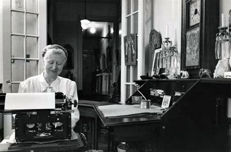marianne more typing on a typewriter