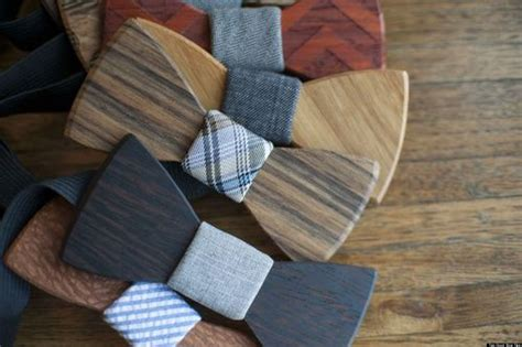 wooden bow ties   perfect accessory  indie grooms