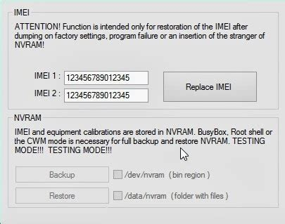 nvram reset mtk all about smartphones how to restore imei of any mt65xx