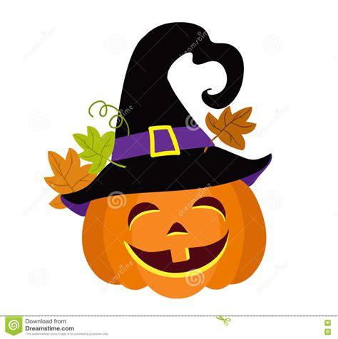 imagenes de halloween vector calabaza divertida de halloween con el ejemplo del vector