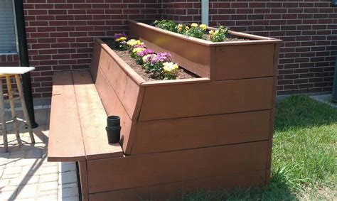 bench planter box plans pdf woodwork planter box bench plans download diy plans
