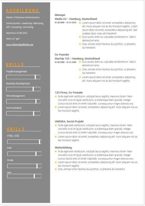 Lebenslauf Vorlage Biz ᐅ Lebenslauf Muster Und Vorlagen In Word Kostenlose Vorlagen