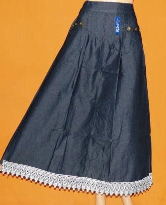 Rok Levis 1 rok levis renda rm229 grosir baju muslim murah tanah abang