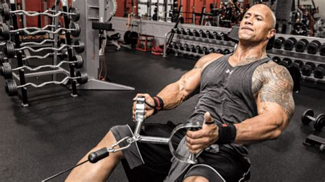 dwayne johnson bench discover the diet plan and fitness workout routine of