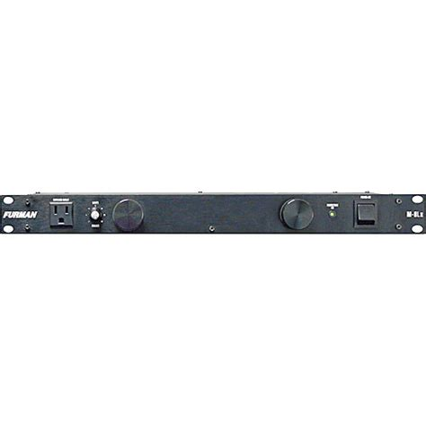 Furman Rack Light by Furman M 8lx Merit X Series 8 Outlet Power Conditioner M