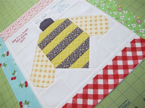 Quilt Bee by Bumble Bee Quilt Block Tutorial Sewing Tutorials And