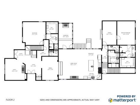 sketch floor plans matterport versus blue sketch 2d floor plans we get