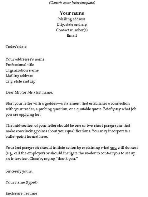 cover letter resumes and cover letters