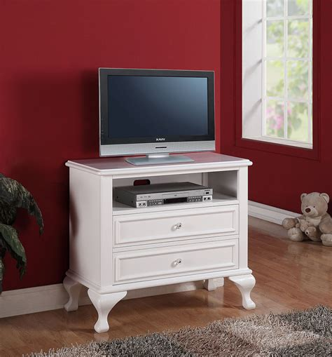 Tv For Small Bedroom by Small White Tv Stand With Drawers For Bedroom Of Stylish