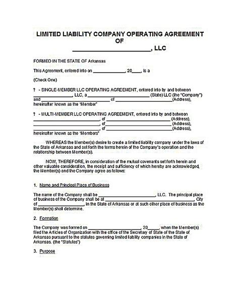 florida llc operating agreement sle sle llc operating agreement template 28 23 llc operating