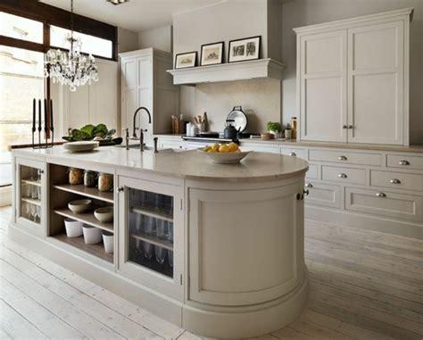 plan de travail cuisine arrondi la cuisine 233 quip 233 e avec 238 lot central 66 id 233 es en photos