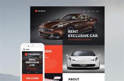 best car rental website 10 best rental cars website templates tonytemplates