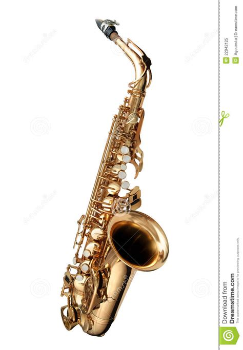 Swing Jazz Instruments Saxophone Jazz Instrument Royalty Free Stock Photo Image