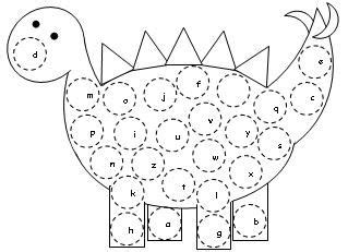 the letter black abc dinosaur letter assessments activity available at www 1657