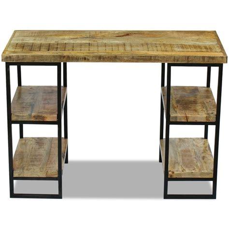 mango wood desk chair vidaxl office desk mango wood 110x55x76 cm vidaxl co uk