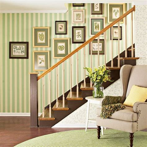 How To Decorate Your Living Room how to maximize a staircase wall
