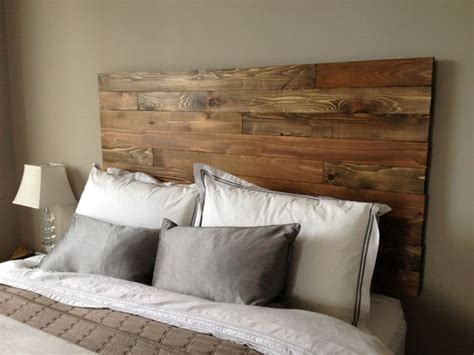 wall mounted headboards diy cedar barn wood style headboard modern rustic handmade