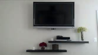 floating shelves for tv floating shelves under tv for the home pinterest