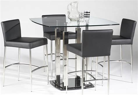 glass top counter height dining table 15 counter height dining sets home design lover