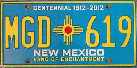 how to get license plates for a new car 10 new mexico award winning turquoise centennial auto