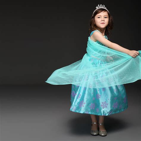 design elsa dress game pettigirl 2016 new design girls elsa dresses with dot cape