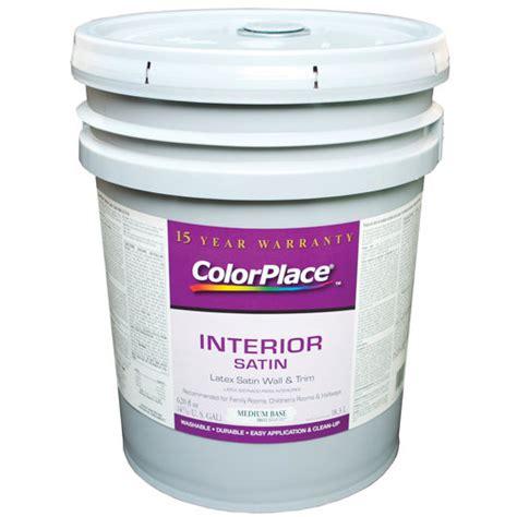 color place interior satin medium paint base walmart
