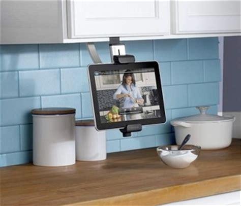 under cabinet ipad mount belkin introduces 3 ipad kitchen accessories mac rumors