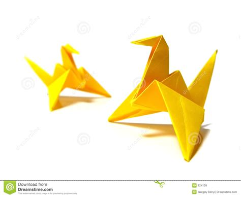 origami birds royalty free stock images image 124109