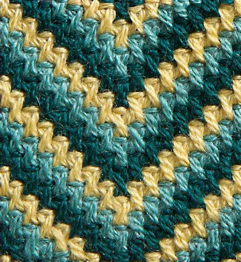 zig zag curl pattern needlepoint stitch collection 2 wonderful stitches