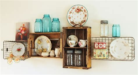 vintage style shelf vintage style crates vintage crates uk a great collection of 20 shelves you can easily diy