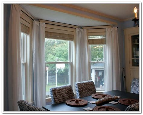 windows drapes top 2 drapes for bay windows homesfeed