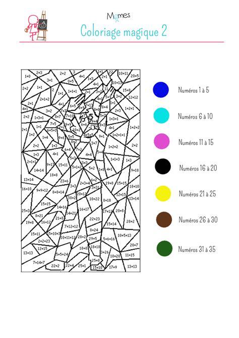 Coloriage Magique Chiffres De 1 10 L L