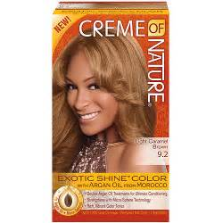 creme of nature hair colors creme of nature shine color hair color 9 2 light