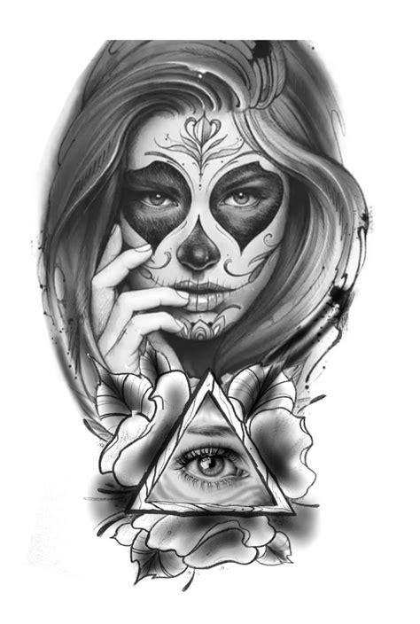 imagenes de calaveras gangster pin de maria bitencourt en minhas ideias de tatto