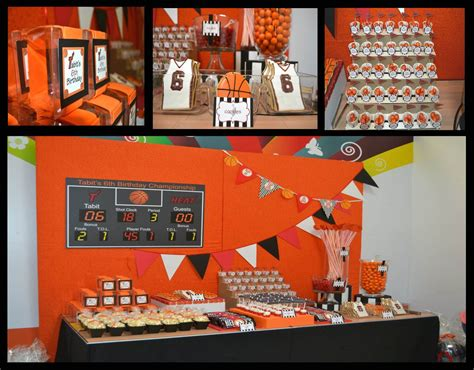 team themed events go team basketball party full printable collection party