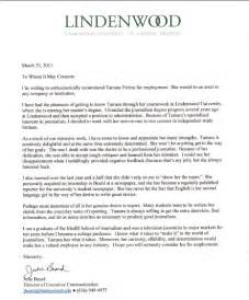 Recommendation Letter For A Prospective Graduate Student Sle Reference Letter For Grad School From Employer