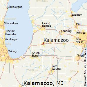 us map kalamazoo michigan best places to live in kalamazoo michigan