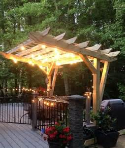 Patio Dinner Set Cantilevered Pergola Diy Designed And Built Hometalk