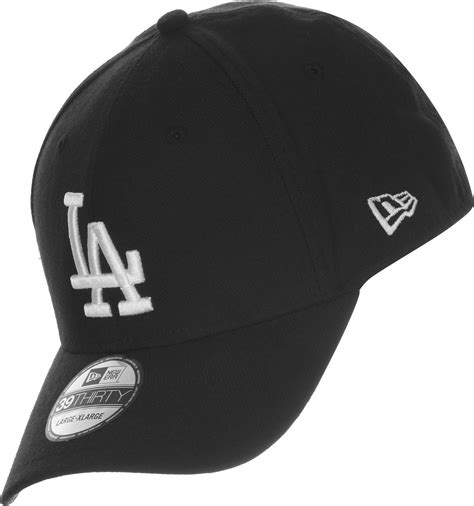 new era la new era 39thirty league la dodgers cap schwarz