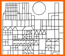 Paul Klee Coloring Pages free coloring pages of klee